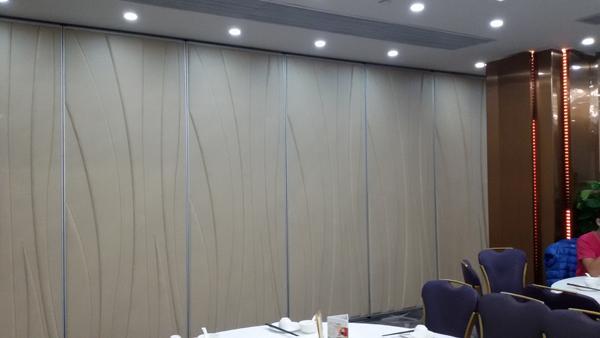 Partition Meeting Room Bi Folding Doors , Folding Sliding Glass Doors