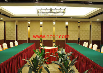 China Seafood Restaurant Room Partition Hanging Office  Aluminum Sliding Doors supplier
