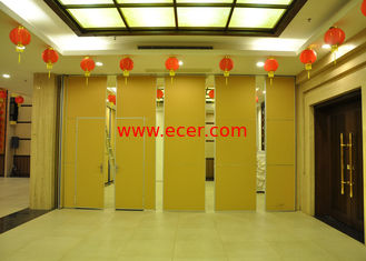 China Training Room Folding Partition  Aluminum Sliding Doors 65mm Panel supplier