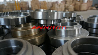 Nonstandard CB DIN 35CrNiMo Flange Ring CNC Machining Parts For Offshore Machinery