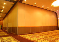 China Office Hanging Sliding Door , 65mm Panel Operable Wall For Banquet Wedding Facility factory