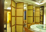 China Demountable Partition Folding Internal Doors  Stackable Acoustic Partitions factory