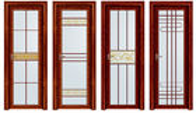 China Household Powder Coating Aluminium Casement Door 5 mm + 9 A + 5 mm factory
