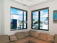 China Adjustable Horizontal Plantation Glass Shutter Window With Laminated Glazing factory