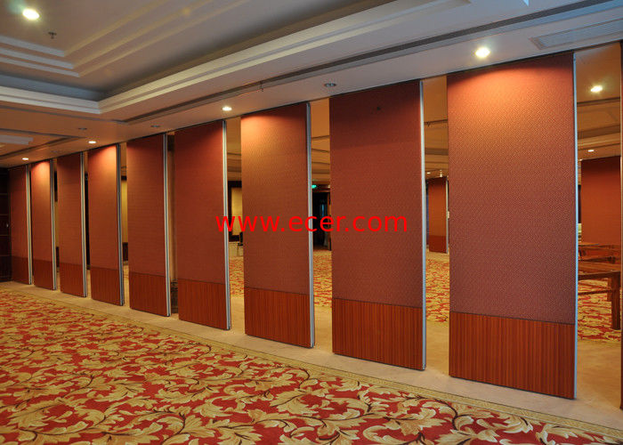 China Folding Portable Wall Partitions Hall Partition Wall No Floor Track factory