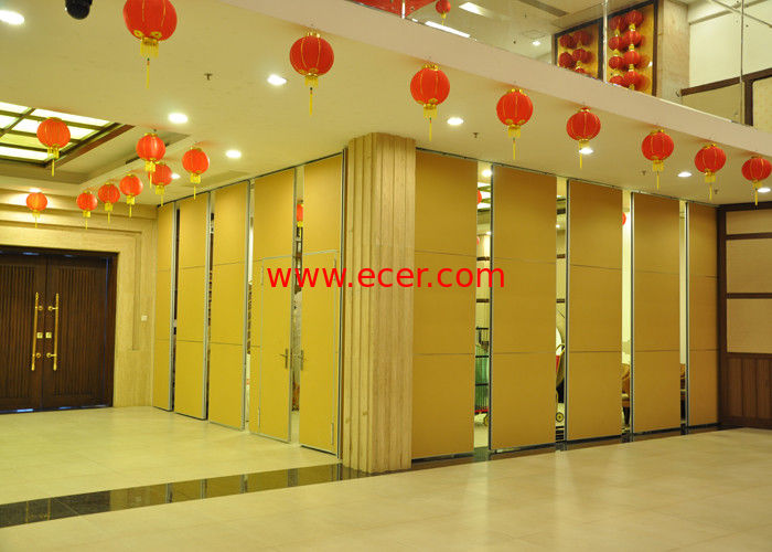 China Steel Movable Partition Office Hanging Sliding Door  For International Convention Centers factory