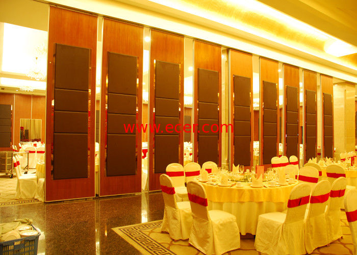 China Hanging Office  Aluminum Sliding Doors , Banquet Hall Partition Wall , Ceiling Track factory