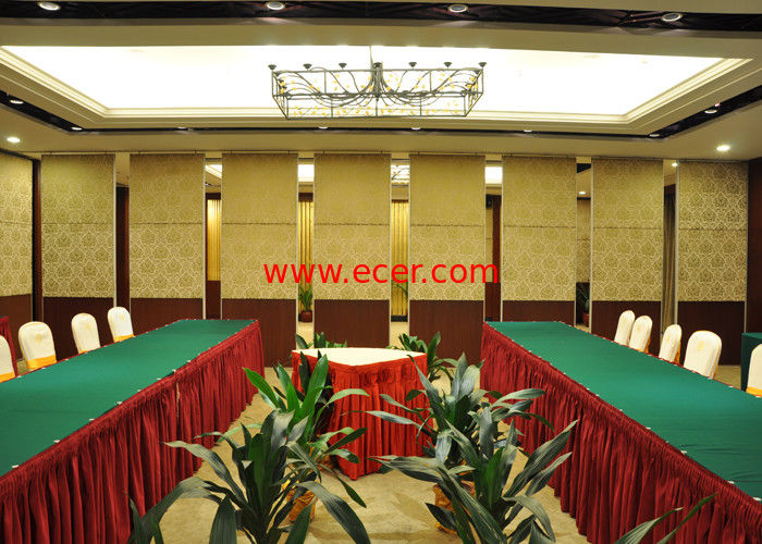 China Seafood Restaurant Room Partition Hanging Office  Aluminum Sliding Doors factory