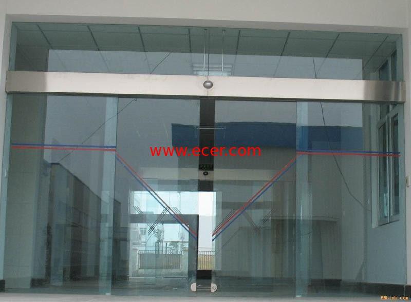 Frameless sliding glass doors exterior home decor