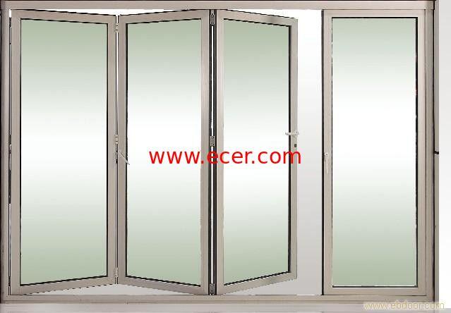 Toughened Collapsing Sliding Glass Doors Bi Folding Sliding Doors