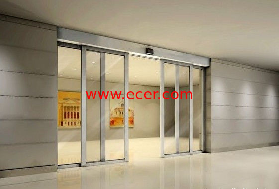 Residential Building Sliding Automatic Glass Door Large With