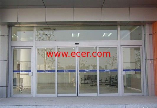 Touch Switch Sliding Automatic Glass Door Seal 10 mm Tempered Glazed