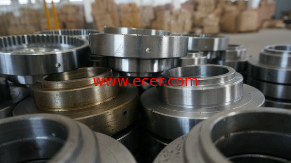 China Nonstandard CB DIN 35CrNiMo Flange Ring CNC Machining Parts For Offshore Machinery factory