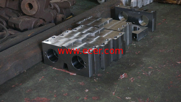 OEM ASTM A357 Laser Cutting Machine parts / 5 axis Machining Parts With Wire Cutting supplier