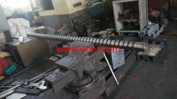 OEM Copper Long Thread Rod Machining Parts For Industrial Equipment , Metal Machined Parts