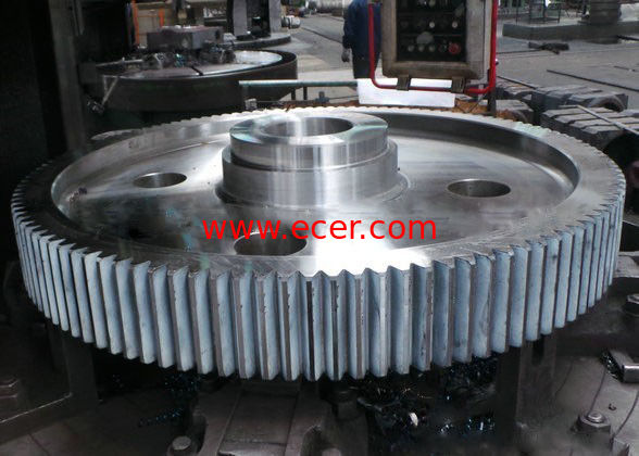 CNC Machining Spiral Gear Helical Machining Internal Skewed Tooth Double Hypoid Gear