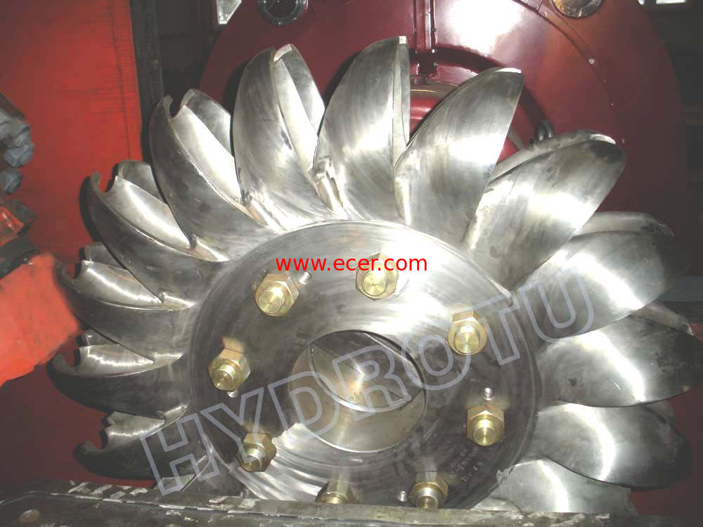 Hydro Pelton Turbine Runner  with Forge CNC Machining for High Head Hydropower Project
