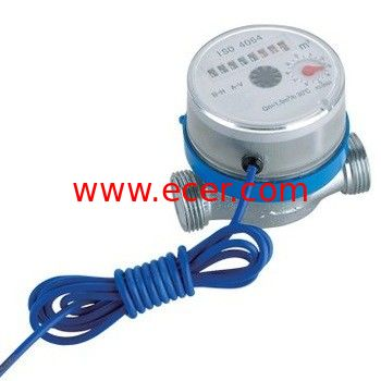 Single Jet Remote Reading Water Meter / automatic water meter
