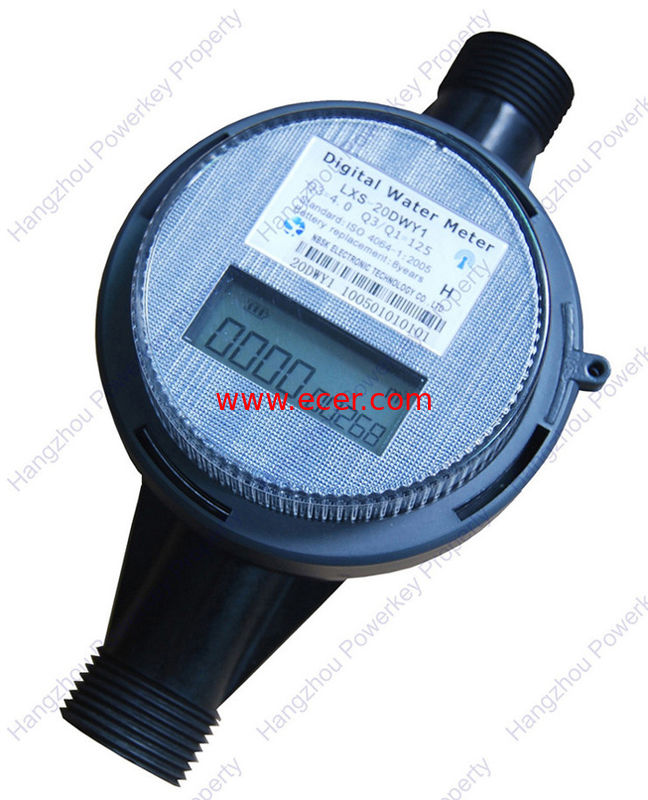DN20 / DN15 Automatic Remote Reading Water Meter Reader , OIML R49 , PN10