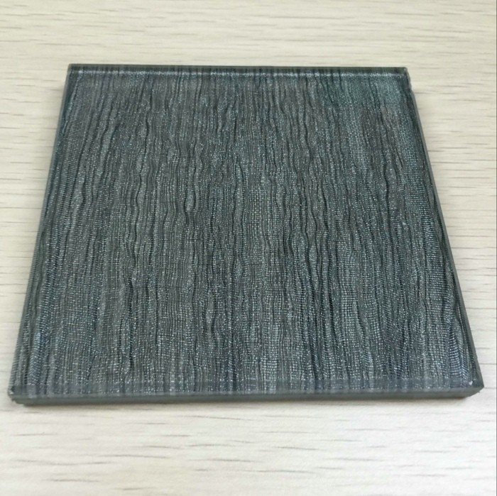 Curved Laminated Art Glass