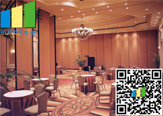 China Room Dividers Aluminum Sliding Doors 55 Rw Acoustic Rate 45 / 55 Db distributor