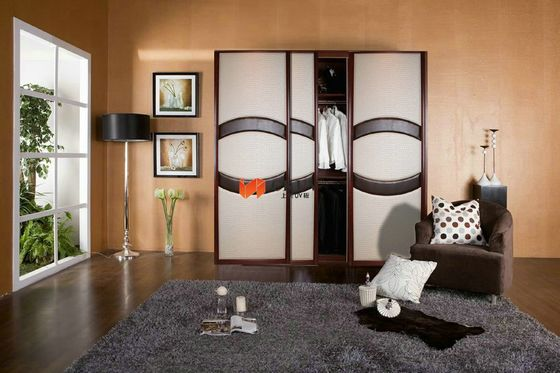 Laminated MDF Shoji Fitted Folding / Swing / Sliding Wardrobe Doors 4ft x 8ft