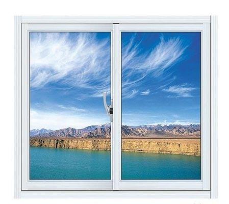 China Blue Aluminium Single Replacement Slider Window Reflective Glass Design ISO9001 / CE distributor