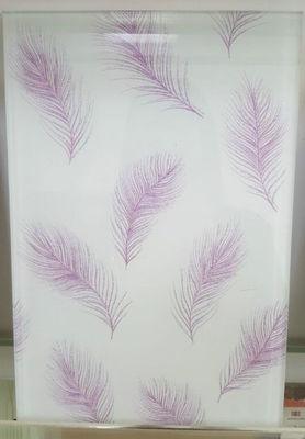 China Purple Wire Mesh Glass distributor