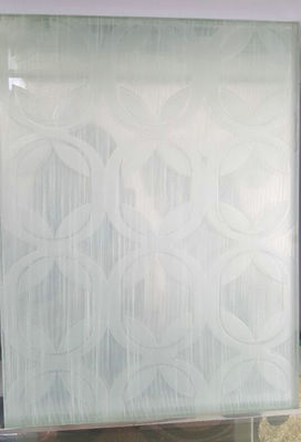 China 9mm Office White Flat Safety Laminated Art Glass Sheets Solid Tempered distributor