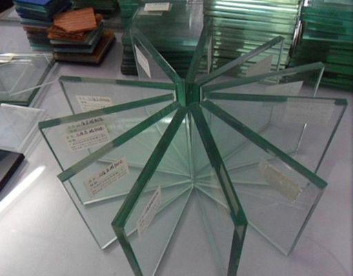 China Flat Glass Building Material Indoor Toughened Glass Panels Heat - Resistant distributor