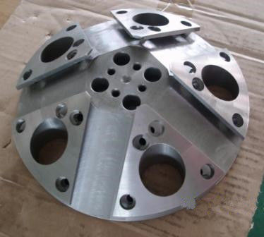 High Precision Metal Parts , Metal Processing Machinery Parts CNC Machined Parts